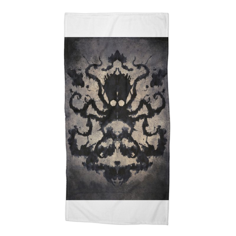 Rorschach octopus Accessories Beach Towel by Pijaczaj