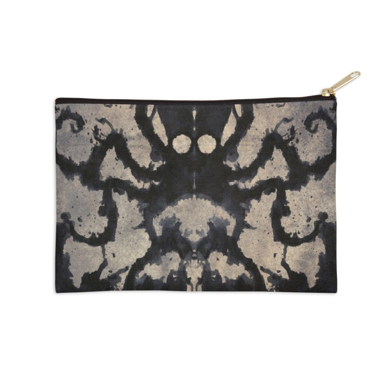 Rorschach octopus Accessories Zip Pouch by Pijaczaj