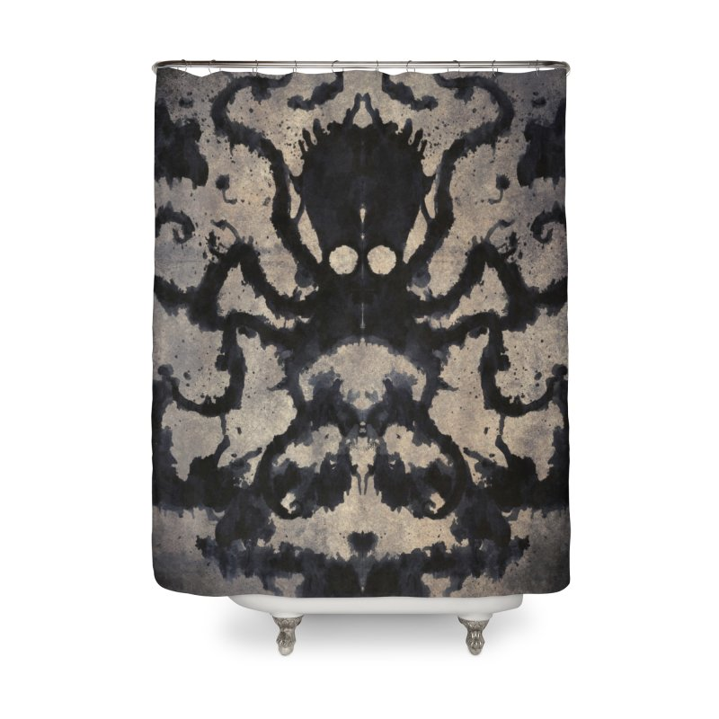 Rorschach octopus Home Shower Curtain by Pijaczaj