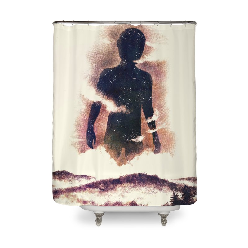 Destroyer Home Shower Curtain by Pijaczaj