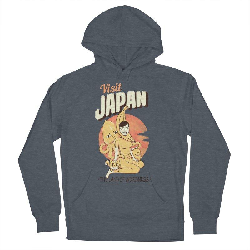 Visit Japan Men's Pullover Hoody by Pijaczaj