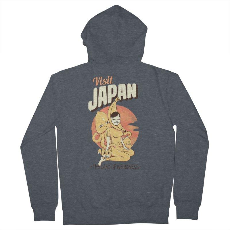 Visit Japan Women's Zip-Up Hoody by Pijaczaj