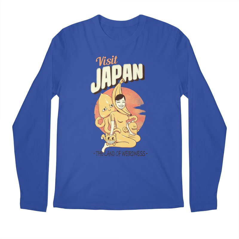 Visit Japan Men's Longsleeve T-Shirt by Pijaczaj