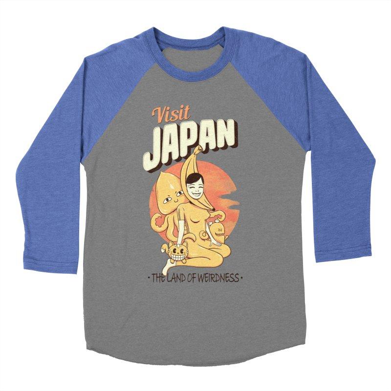 Visit Japan Women's Baseball Triblend T-Shirt by Pijaczaj