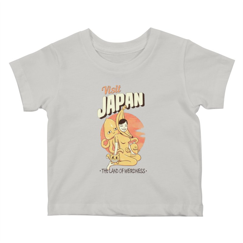 Visit Japan Kids Baby T-Shirt by Pijaczaj