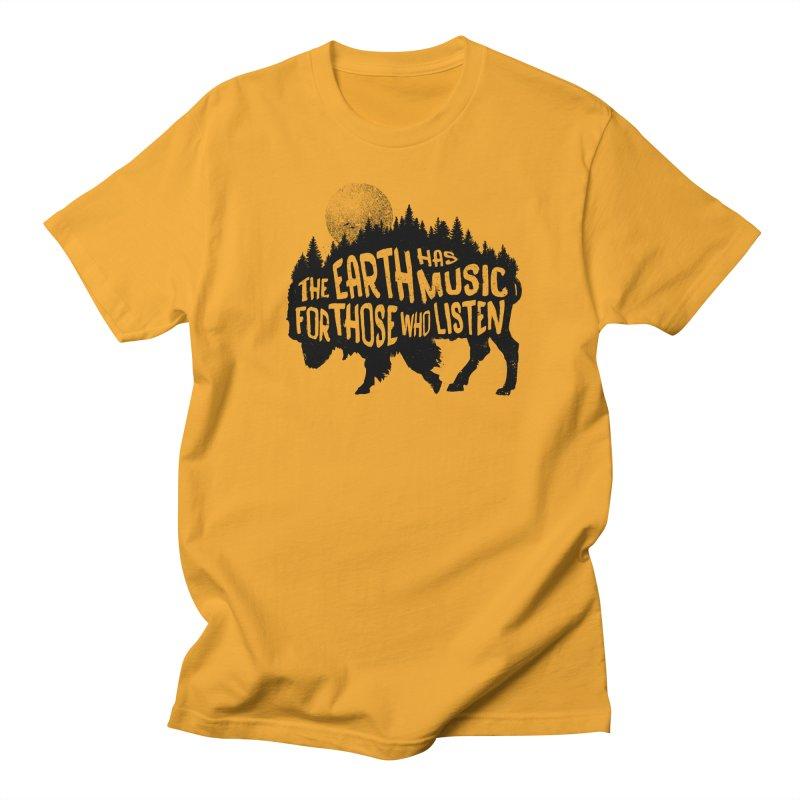 The music of nature Men's T-Shirt by Pijaczaj