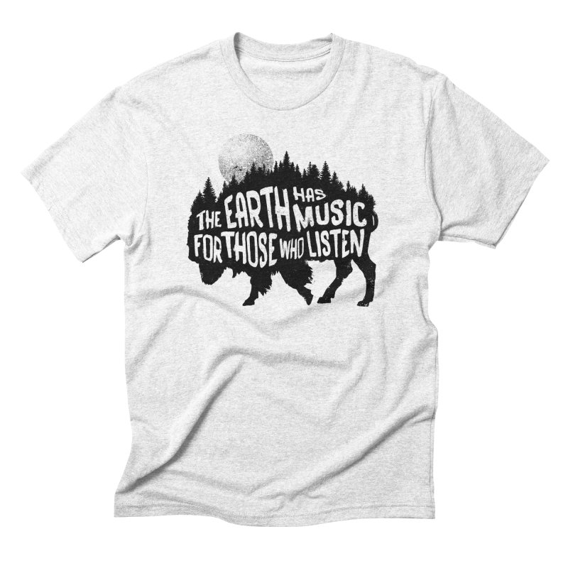 The music of nature Men's Triblend T-shirt by Pijaczaj