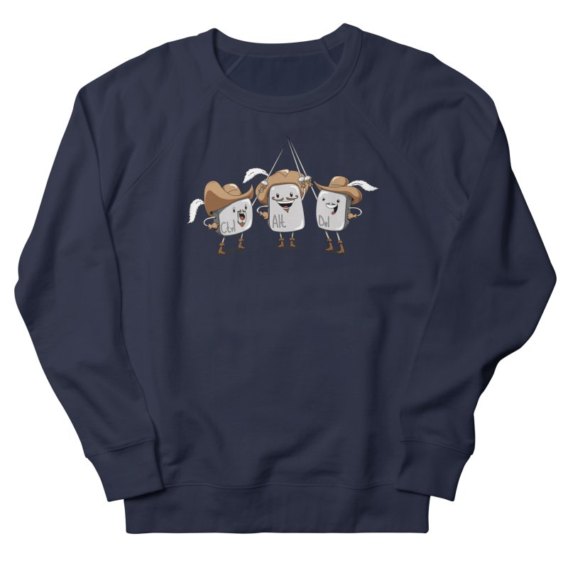 The Three Mus-key-teers Men's Sweatshirt by Pijaczaj
