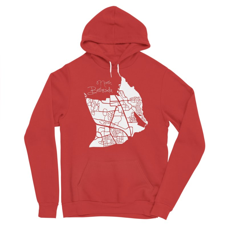 North Bethesda Map Men's Pullover Hoody by @pike.and.rozay