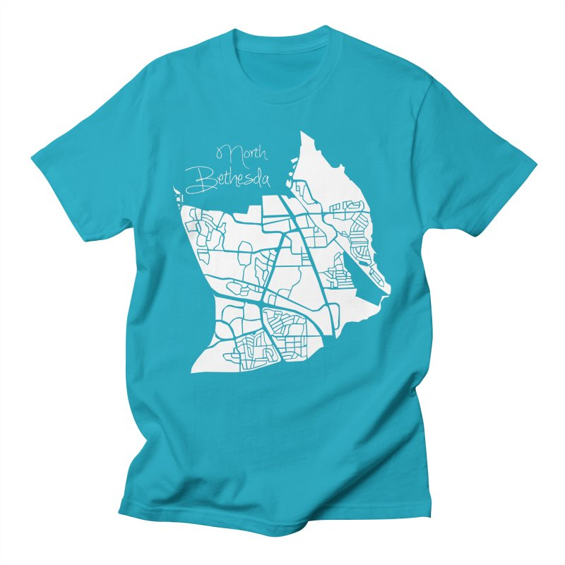 North Bethesda Map Men's T-Shirt by @pike.and.rozay