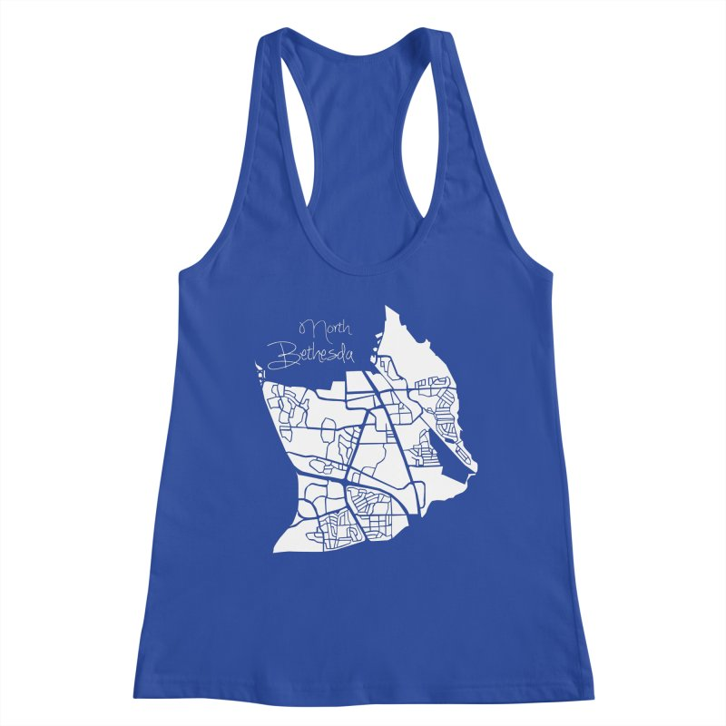 North Bethesda Map Women's Tank by @pike.and.rozay