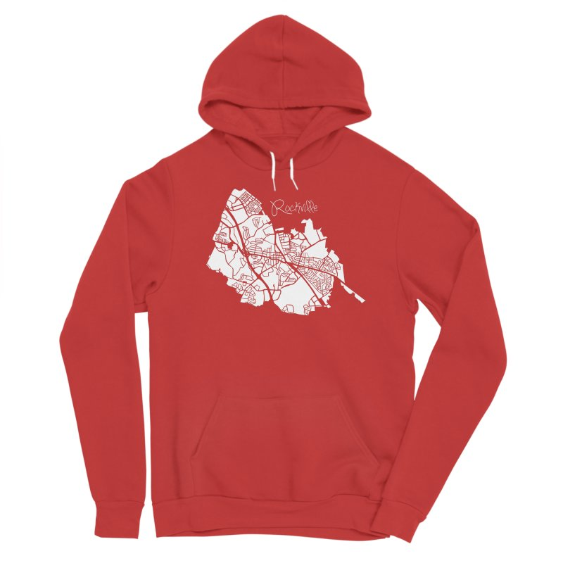 Rockville Map Men's Pullover Hoody by @pike.and.rozay