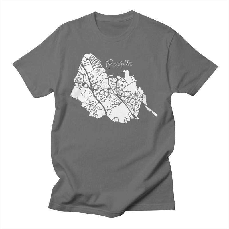 Rockville Map Men's T-Shirt by @pike.and.rozay
