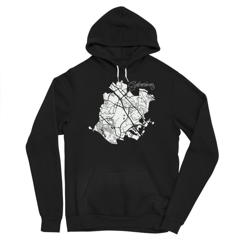 Gaithersburg Map Men's Pullover Hoody by @pike.and.rozay
