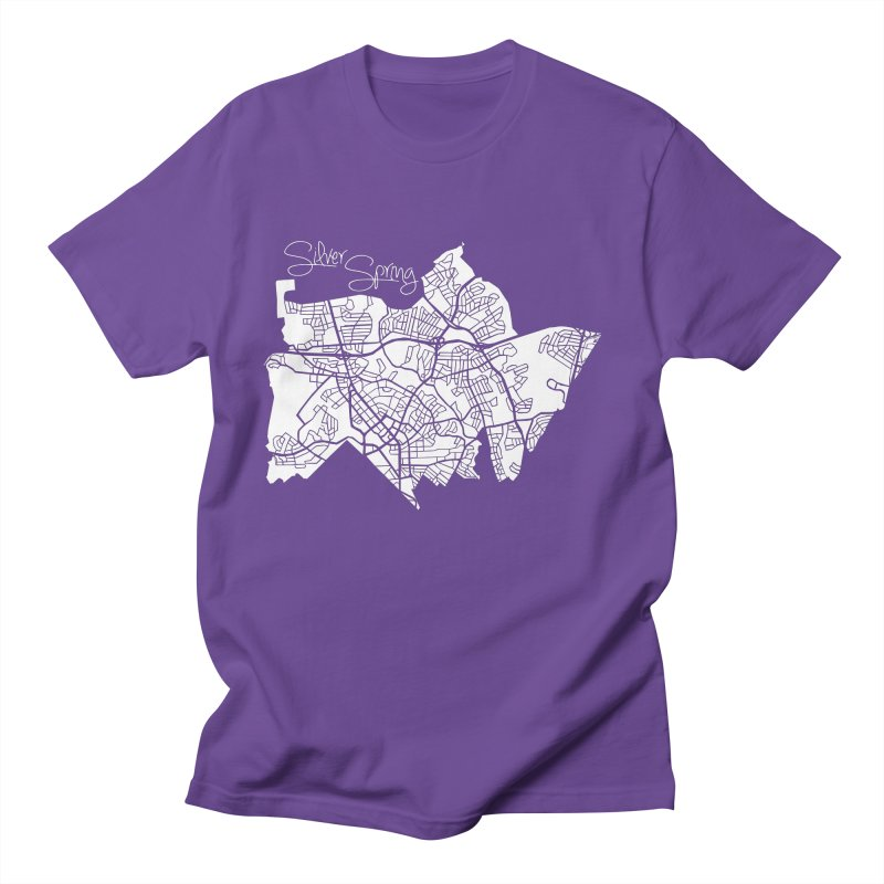 Silver Spring Map Men's T-Shirt by @pike.and.rozay