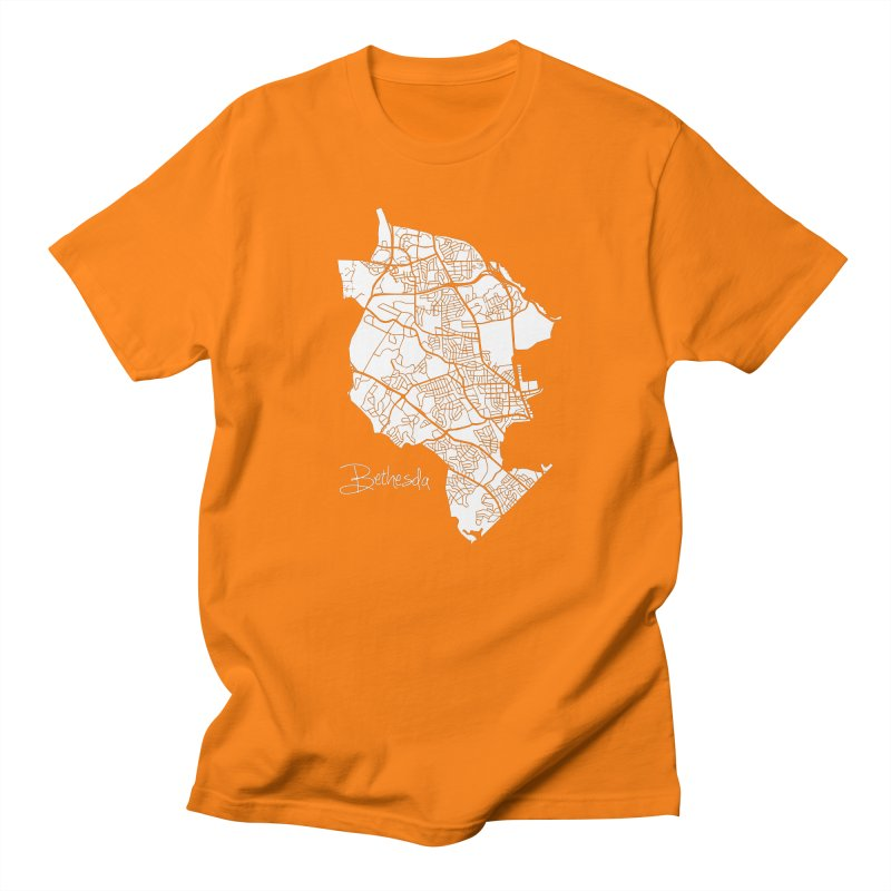 Bethesda Map Men's T-Shirt by @pike.and.rozay