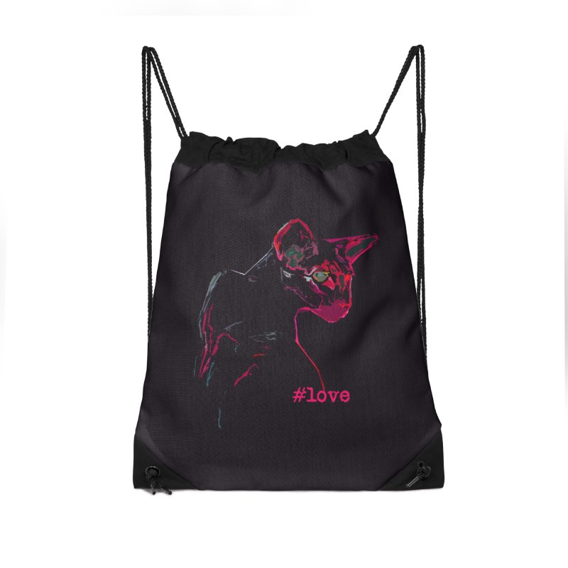 Mr. Red Love Accessories Bag by pikeart's Artist Shop