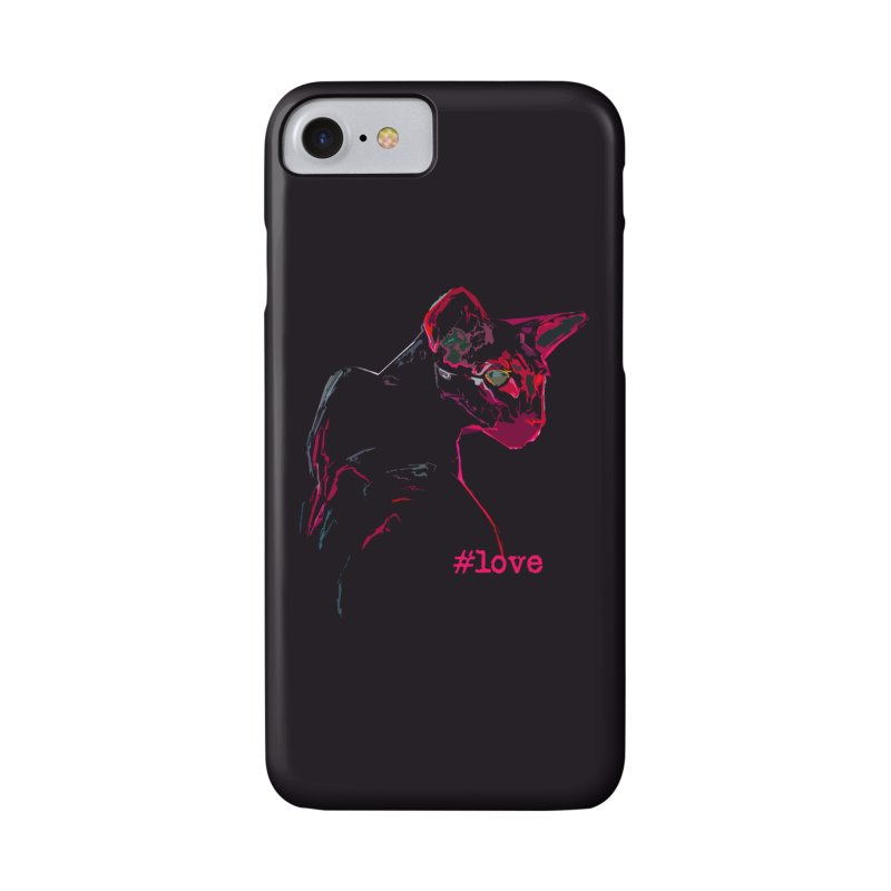 Mr. Red Love Accessories Phone Case by pikeart's Artist Shop