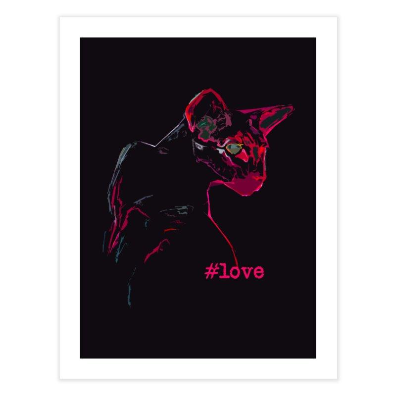 Mr. Red Love Home Fine Art Print by pikeart's Artist Shop