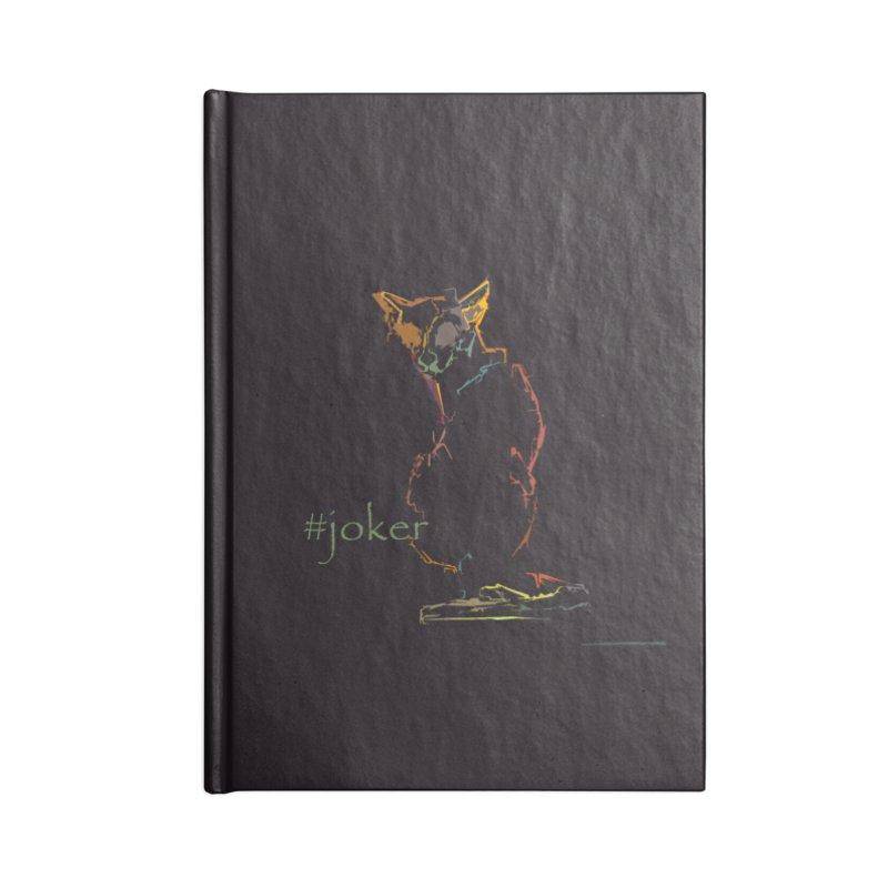 Joker Accessories Notebook by pikeart's Artist Shop