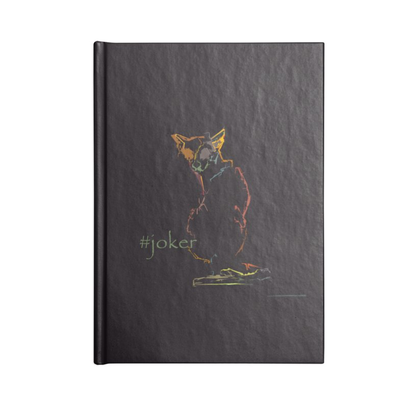 Joker Accessories Lined Journal Notebook by pikeart's Artist Shop