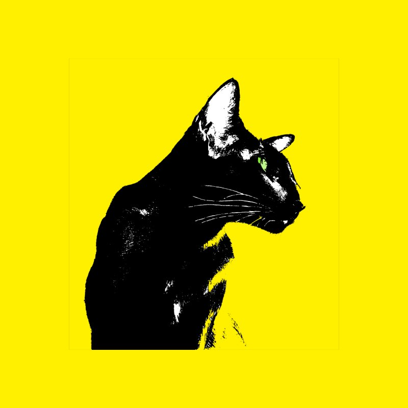 Mr. C. Black - Yellow by pikeart's Artist Shop