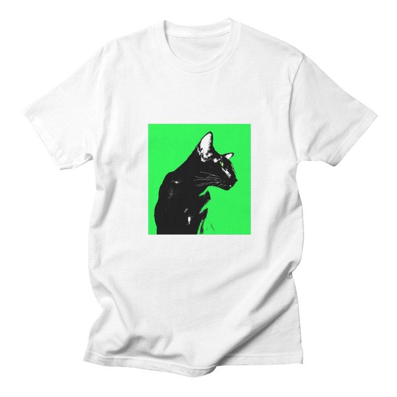 Mr. C. Black - Green Women's T-Shirt by pikeart's Artist Shop