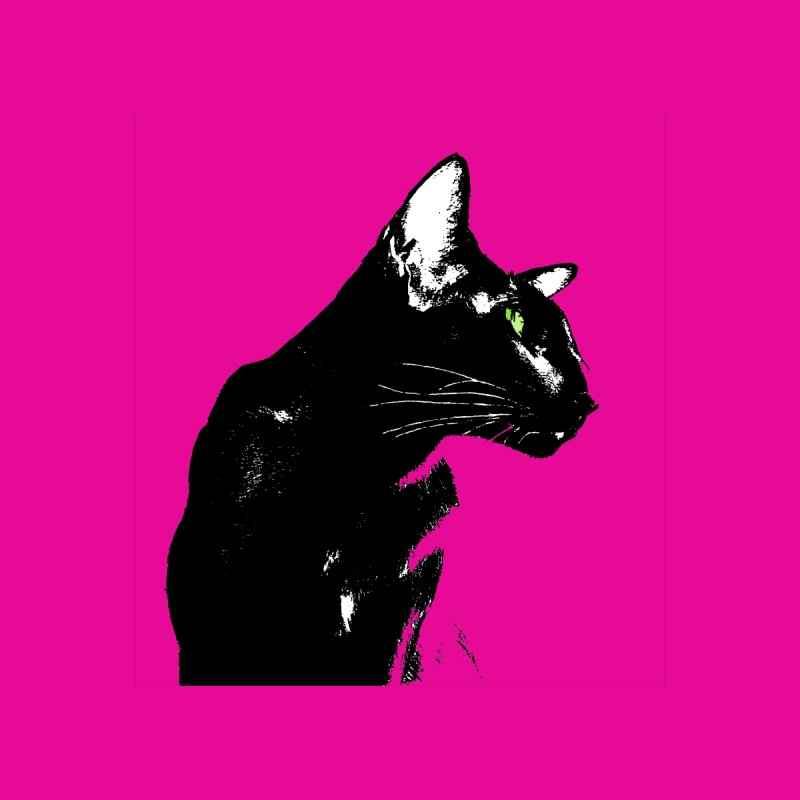 Mr. C. Black - Pink by pikeart's Artist Shop