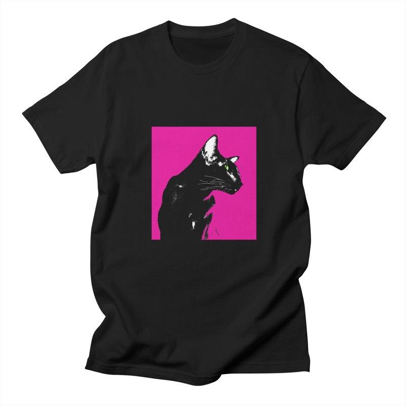 Mr. C. Black - Pink Women's Regular Unisex T-Shirt by pikeart's Artist Shop