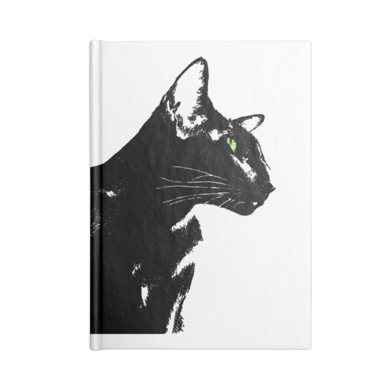 Mr. C. Black  Accessories Lined Journal Notebook by pikeart's Artist Shop