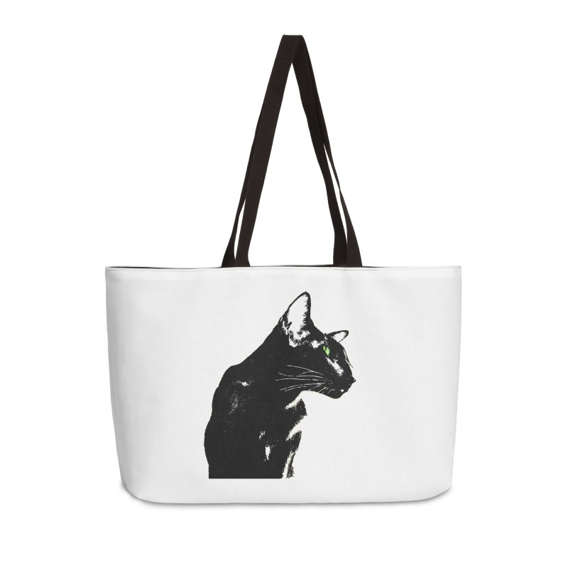 Mr. C. Black  Accessories Weekender Bag Bag by pikeart's Artist Shop