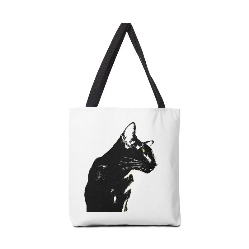 Mr. C. Black  Accessories Bag by pikeart's Artist Shop