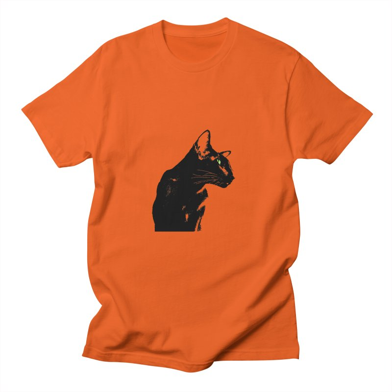 Mr. C. Black  Women's T-Shirt by pikeart's Artist Shop