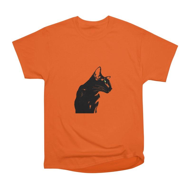 Mr. C. Black  Women's Heavyweight Unisex T-Shirt by pikeart's Artist Shop