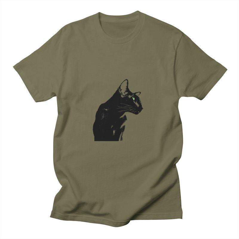 Mr. C. Black  Women's Regular Unisex T-Shirt by pikeart's Artist Shop
