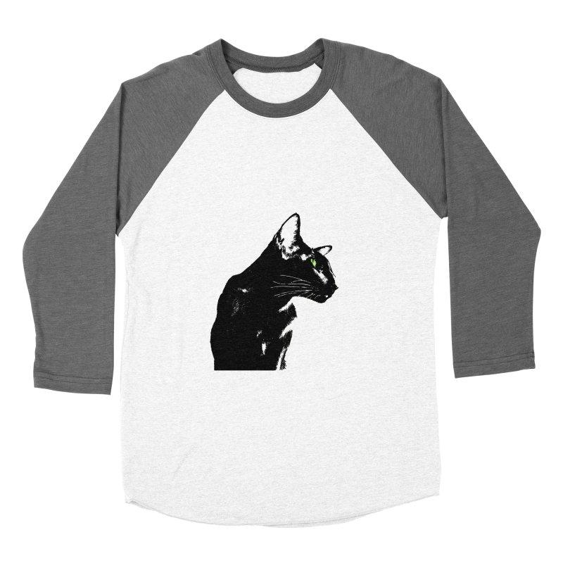 Mr. C. Black  Men's Baseball Triblend Longsleeve T-Shirt by pikeart's Artist Shop