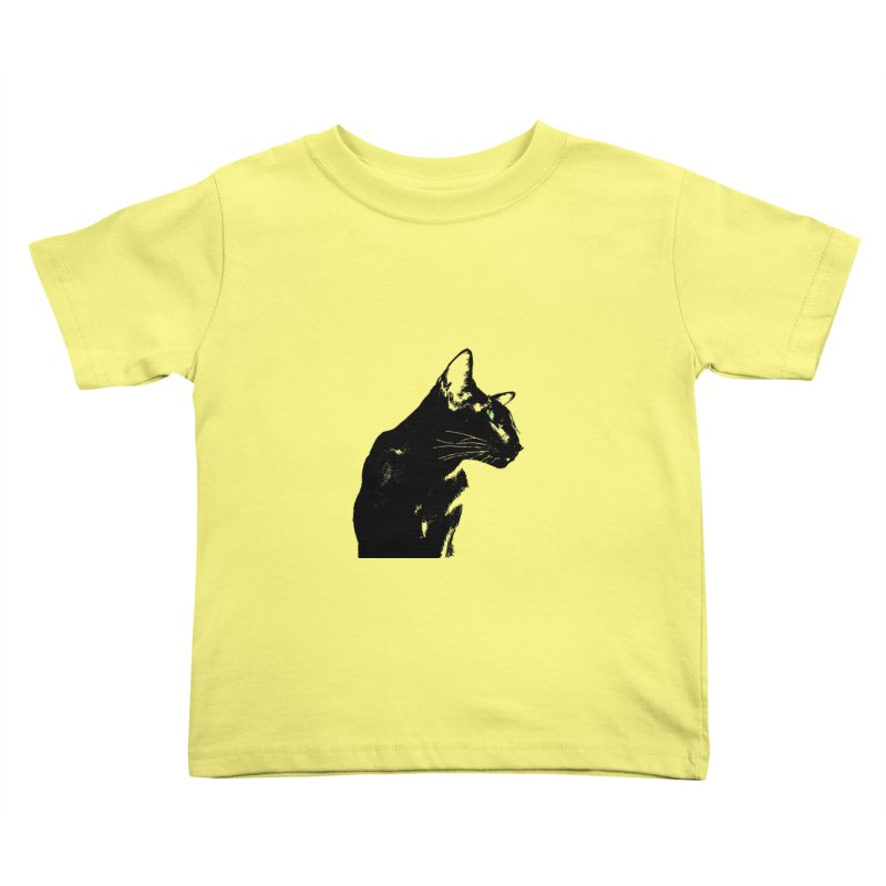 Mr. C. Black  Kids Toddler T-Shirt by pikeart's Artist Shop
