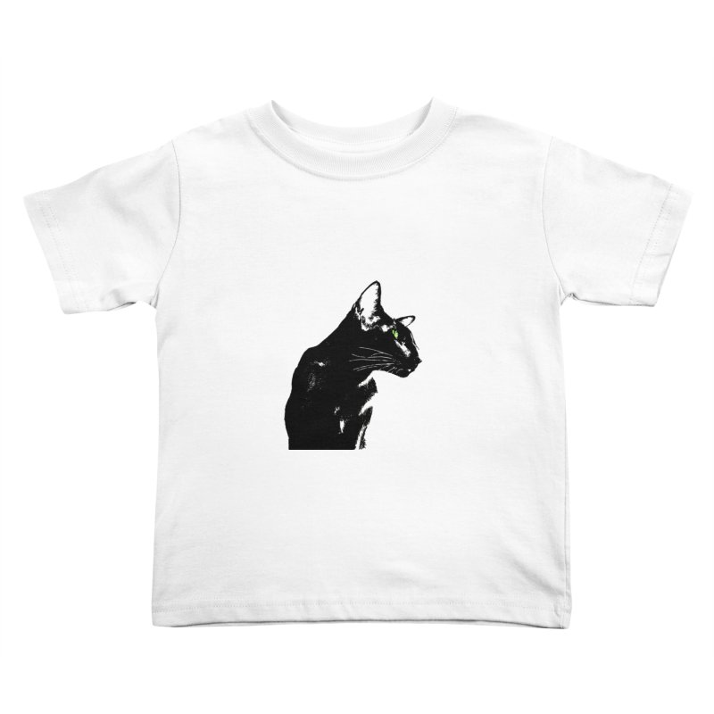 Mr. C. Black  Kids Toddler T-Shirt by pikeart's Artist Shop