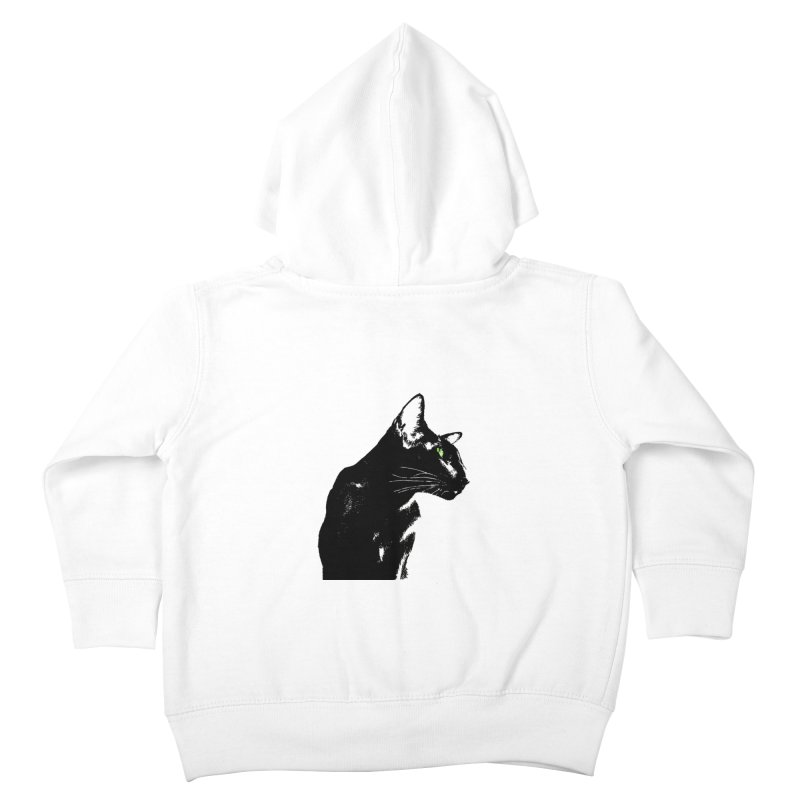 Mr. C. Black  Kids Toddler Zip-Up Hoody by pikeart's Artist Shop