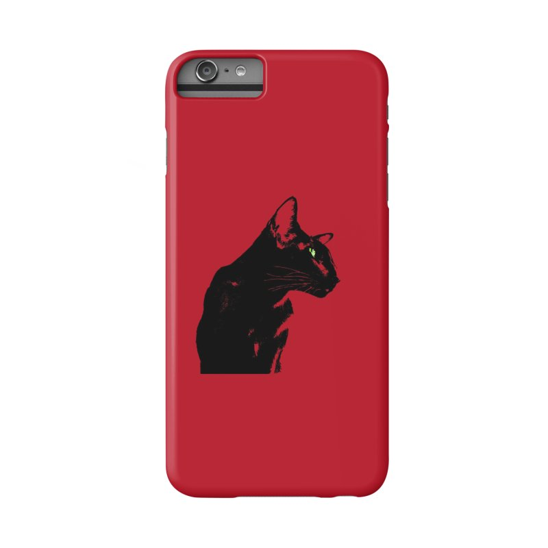 Mr. C. Black - Cherry Accessories Phone Case by pikeart's Artist Shop