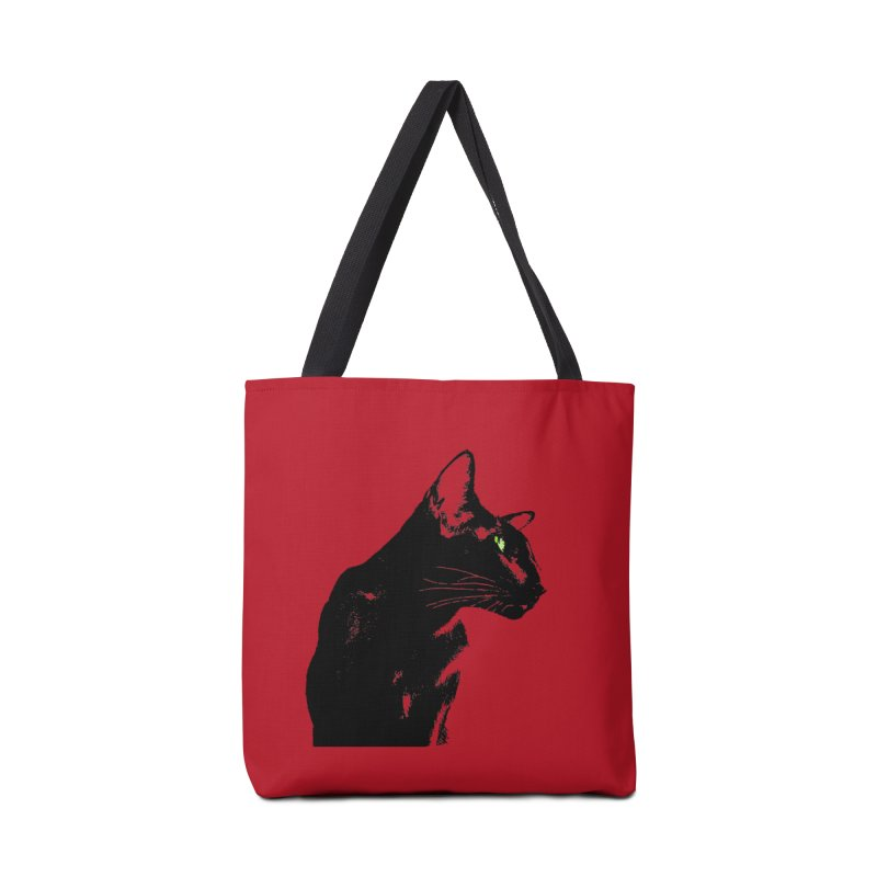 Mr. C. Black - Cherry Accessories Tote Bag Bag by pikeart's Artist Shop