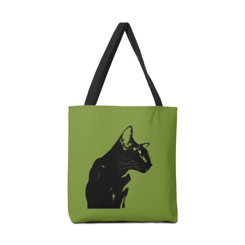 Mr. C. Black - Olive Accessories Tote Bag Bag by pikeart's Artist Shop