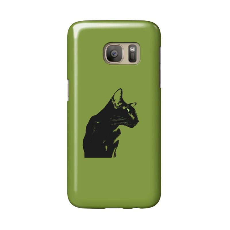Mr. C. Black - Olive Accessories Phone Case by pikeart's Artist Shop