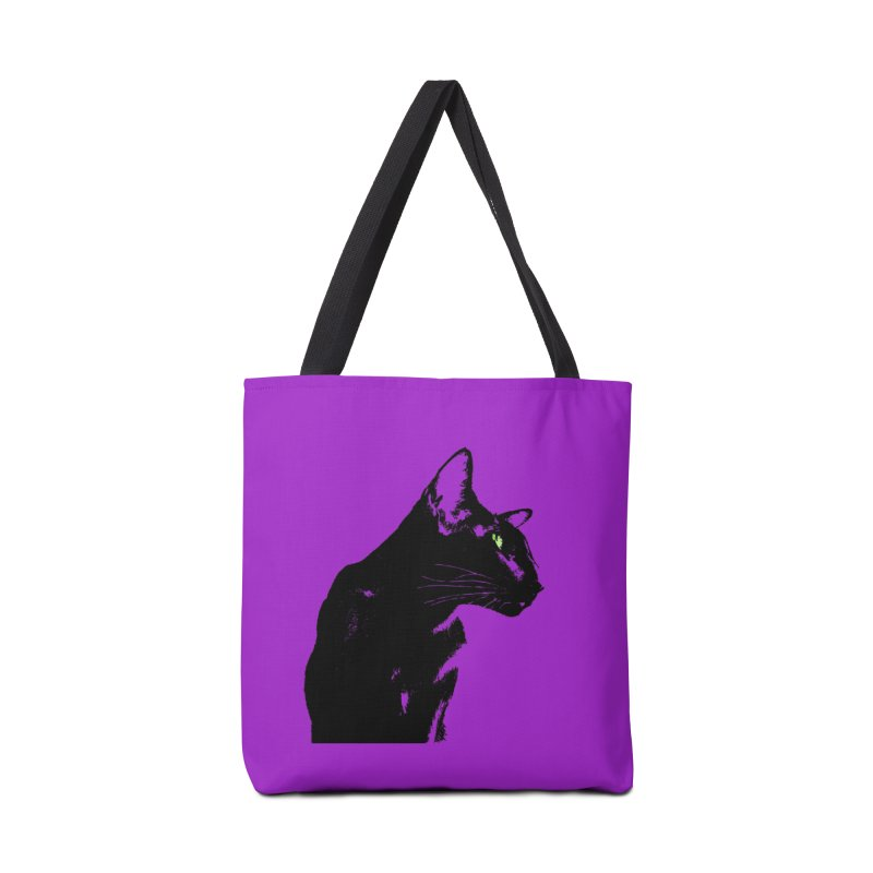 Mr. C. Black - Violet Accessories Tote Bag Bag by pikeart's Artist Shop