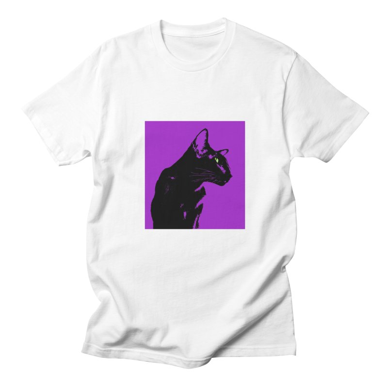 Mr. C. Black - Violet Men's Regular T-Shirt by pikeart's Artist Shop