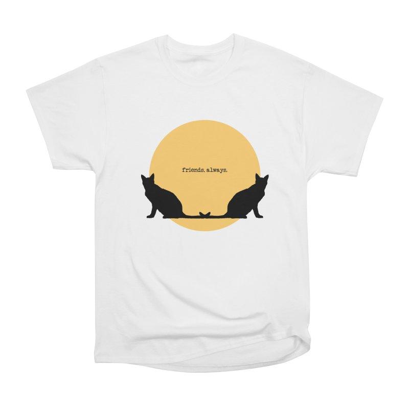 We are - friends. always. Men's T-Shirt by pikeart's Artist Shop