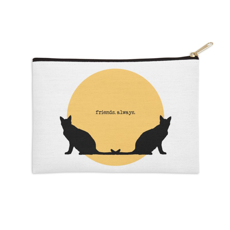 We are - friends. always. Accessories Zip Pouch by pikeart's Artist Shop