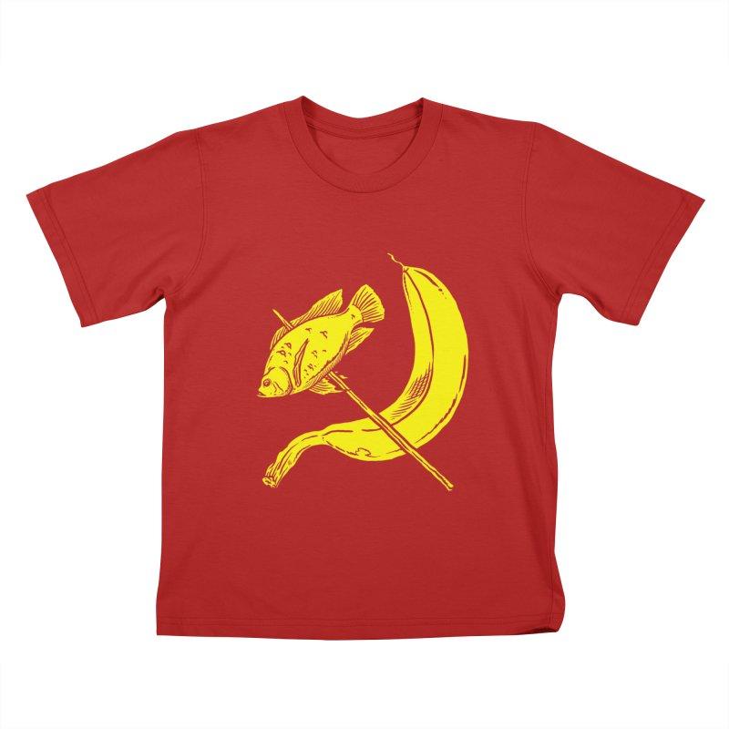 Vitamin & Protein Party Kids T-shirt by PIK | SPIK | LODER