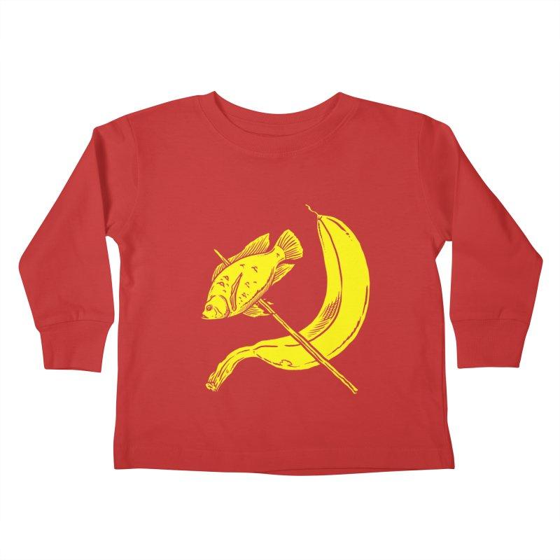 Vitamin & Protein Party Kids Toddler Longsleeve T-Shirt by PIK | SPIK | LODER
