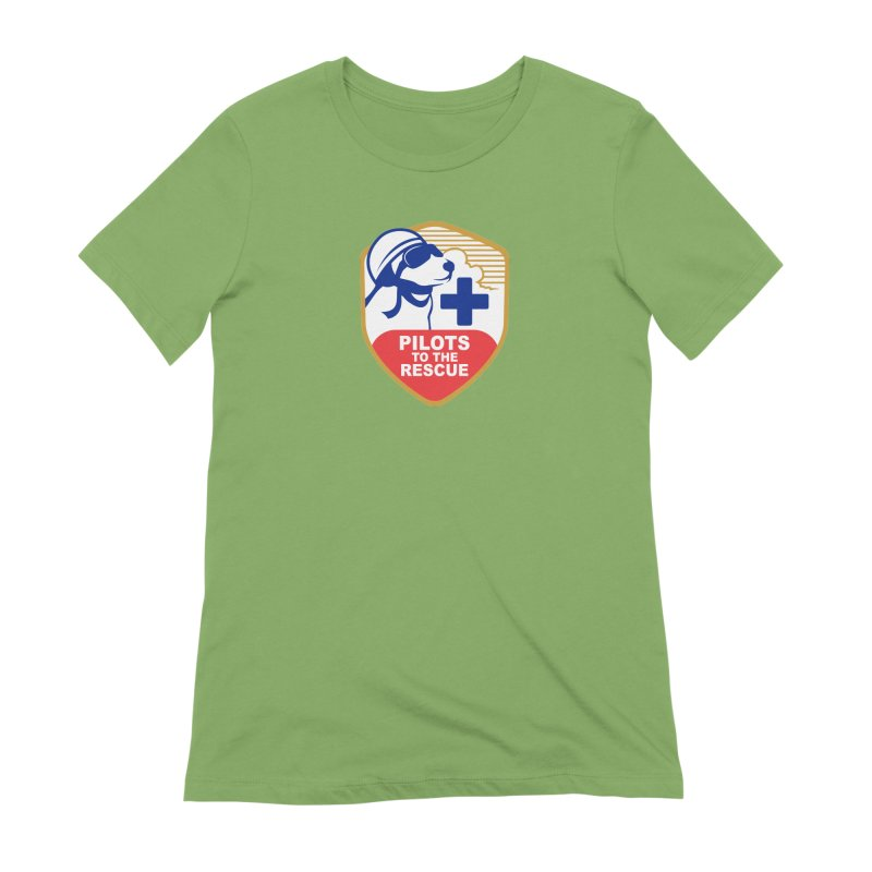 Pilots to the Rescue Women's Extra Soft T-Shirt by PilotsToTheRescue's Artist Shop